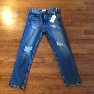 McGuire vintage slim cropped jeans size 29 NEW